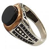 انگشتر نقره شاهانه مردانه