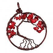 مدال مس مرجان طرح درختچه
