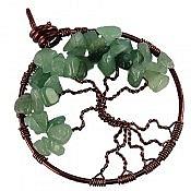 مدال مس آونتورین طرح درختچه