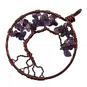 مدال مس آمتیست طرح درختچه
