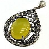 مدال نقره عقیق حکاکی شرف الشمس