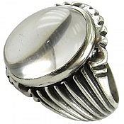 انگشتر نقره در نجف طرح سلطنتی مردانه