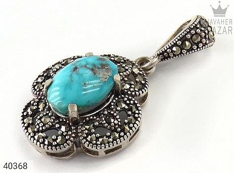مدال نقره فیروزه نیشابوری طرح ترنم - 40368