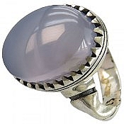 انگشتر نقره عقیق درشت مردانه
