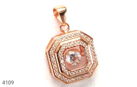 مدال نقره 8 ضلعی - 4109