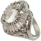 انگشتر نقره در نجف طرح سوگند زنانه