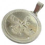 مدال نقره طرح شمایل