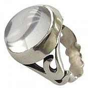 انگشتر نقره در نجف رکاب یا علی مردانه