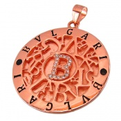 مدال نقره درشت طرح بولگاری