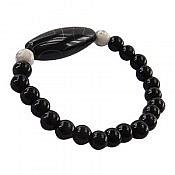 دستبند عقیق و انیکس زنانه