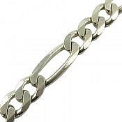 زنجیر نقره 55 سانتی مردانه