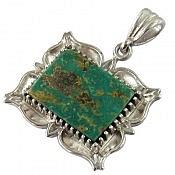 مدال نقره فیروزه نیشابوری طرح سنتی و لوکس