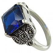 انگشتر نقره سنتاتیک زنانه