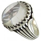انگشتر نقره در نجف دور چنگ مردانه