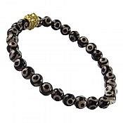 دستبند عقیق تبتی زنانه