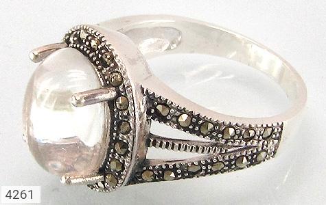انگشتر نقره در نجف درشت زنانه - 4261