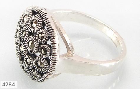 انگشتر نقره طرح بهسا زنانه - 4284