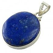 مدال نقره لاجورد آبی