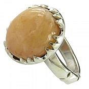 انگشتر نقره در حسینی طرح سلطنتی مردانه