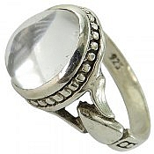 انگشتر نقره در نجف زلال مردانه