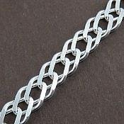 زنجیر نقره 54 سانتی