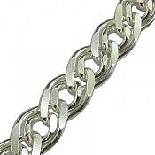 دستبند نقره 21 سانتی مردانه