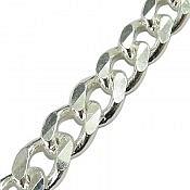 دستبند نقره 22 سانتی مردانه