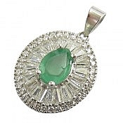 مدال نقره زمرد زامبیا طرح سوگند