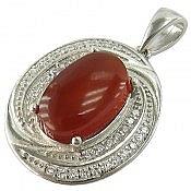 مدال نقره عقیق یمن ارزشمند