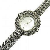 ساعت مچی نقره فاخر زنانه
