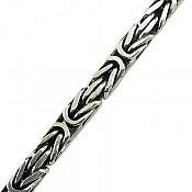 دستبند نقره 20 سانتی مردانه