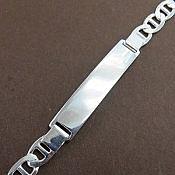 دستبند نقره شیک مردانه