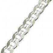 زنجیر نقره 55 سانتی