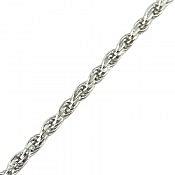 زنجیر نقره 45 سانتی