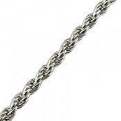 زنجیر نقره 60 سانتی