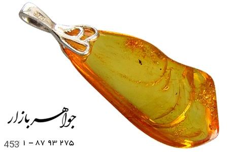 مدال نقره کهربا حشره ای لهستان - 453