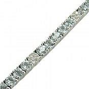 دستبند نقره توپاز طرح شیدا زنانه