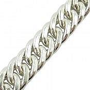 دستبند نقره لوکس اشرافی مردانه