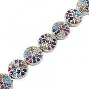 دستبند نقره طرح جمیل زنانه