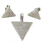 سرویس نقره مثلثی