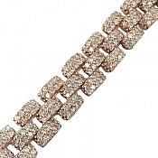 دستبند نقره سلطنتی زنانه