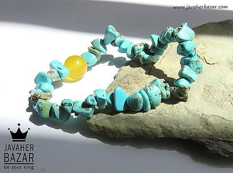 دستبند جید فیروزه تبتی شرف الشمس - 49145