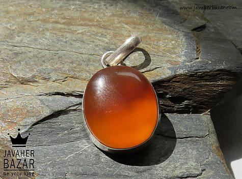 مدال نقره عقیق یمن دست ساز