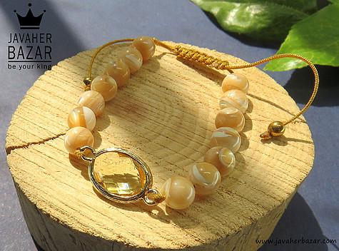 دستبند صدف زیبا و جذاب زنانه