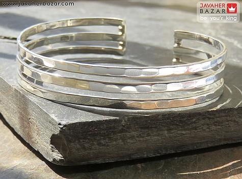 دستبند نقره خلخال جذاب فری سایز برند سامر ایتالیایی زنانه