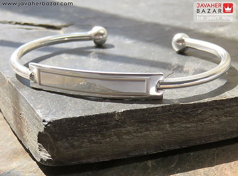 دستبند نقره فری سایز زنانه
