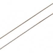 زنجیر نقره ونیزی 45 سانتی