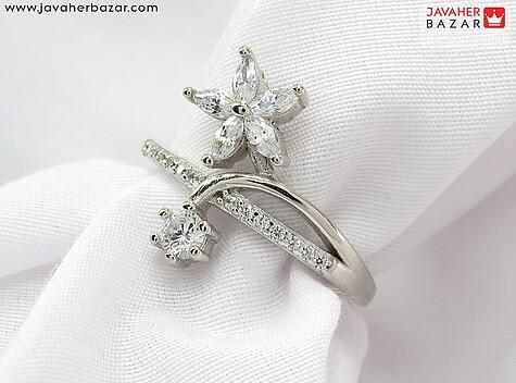انگشتر نقره شیک زنانه