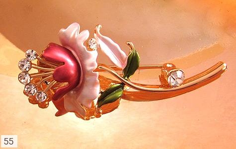 تصویر گل سینه رز زنانه - شماره 3