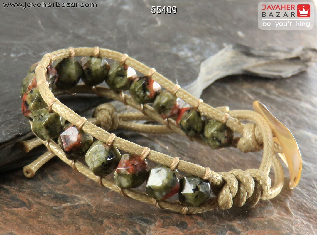 تصویر عکس خرید ، قیمت و خواص دستبند سرپانتین قهوهای زنانه اصل